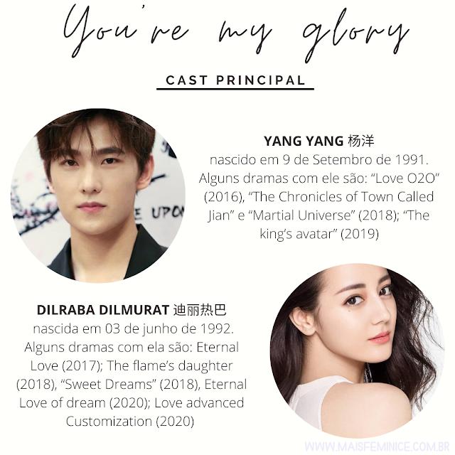 You're my glory  -  Cast Principal
