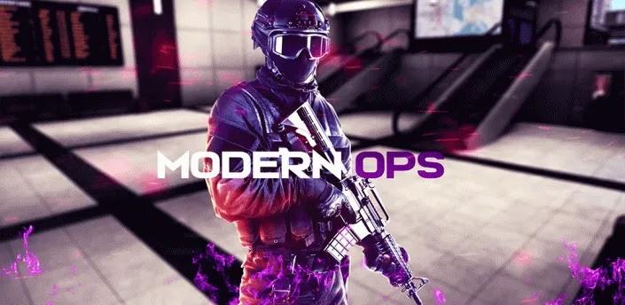 العمليات الحديثة Modern Ops  - مطلق نار جديد PvP حيث يمكنك اللعب لأحد الجانبين - القوات الخاصة أو المجرمين. اختر من أنت واذهب إلى ساحات القتال. تم تصميم هذه اللعبة لأولئك الذين يحبون الحركة والرماة. اللعبة ديناميكية بشكل لا يصدق ، لكن بدون تكتيكات لن تفوز. قاتل في فرق من 5 إلى 5 وتحقق من الأفضل استعدادًا.