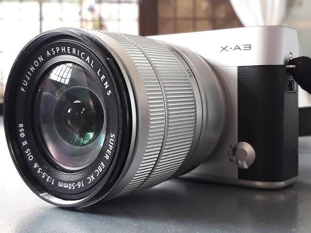 fujifilm mirrorles camera