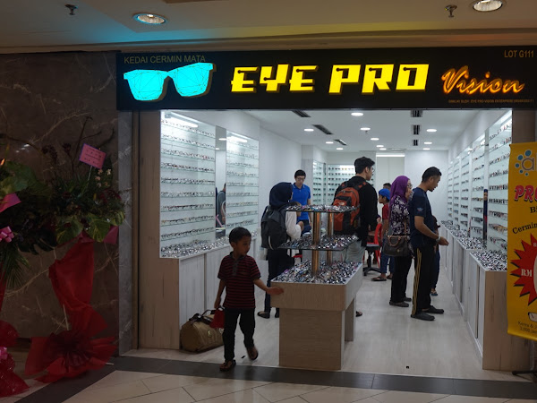 Nak spek murah? Cari William di Eye Pro Vision,Sungei Wang Plaza.