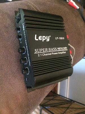 Lepy Super Bass Power Amplifier