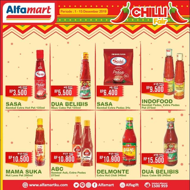 #Alfamart - #Promo Katalog Chilli Fair Periode 01 - 15 Des 2019