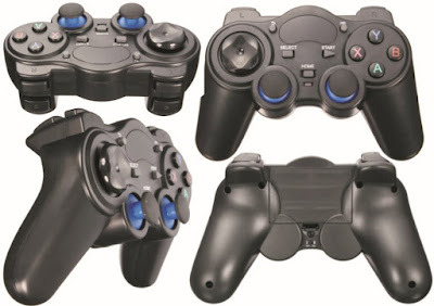Gamepads: Wireless Gaming Joysticks - 2.4GHz Cordless Game Pads and Controllers for Android, TVs and Computer PCs