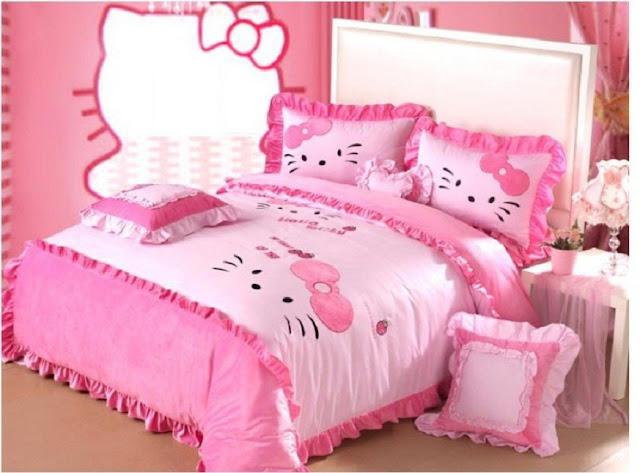 cute hello kitty room ideas