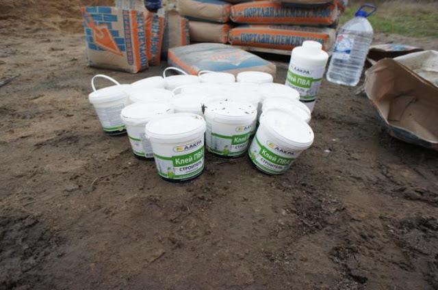 Добавка пва в цементный раствор что дает материалы для бетонной смеси гост