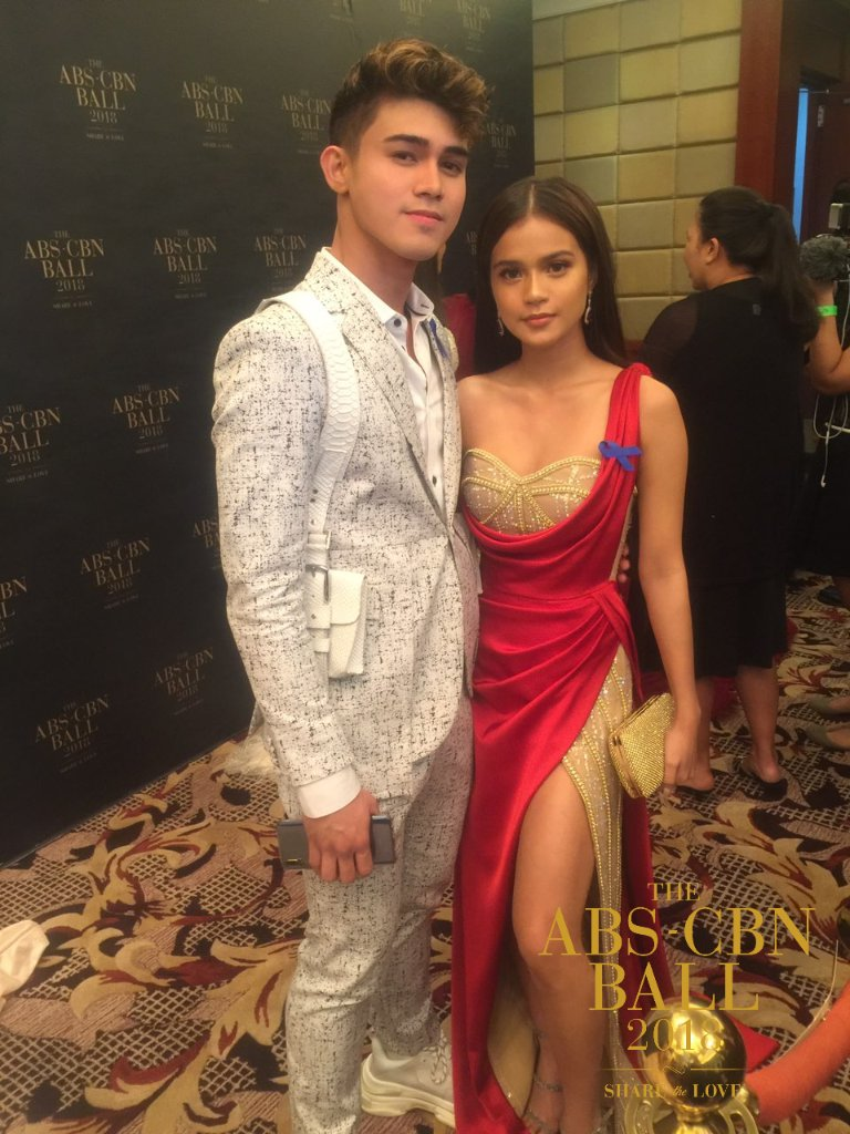 Iñigo Pascual and Maris Racal