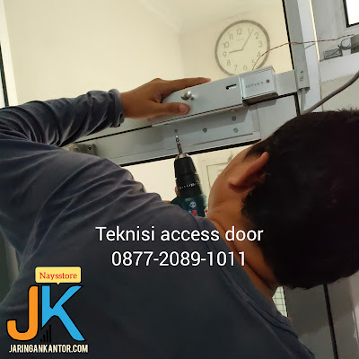 pasang access door, jasa pasang access door, instalasi access door, jasa setting acces control, cara pasang access door solution, jasa pasang akses pintu, jasa pemasangan access door