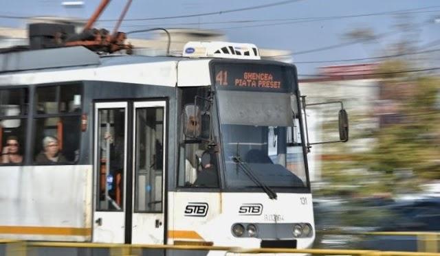 ATENȚIE! Tramvaiul 41 nu circulă duminică