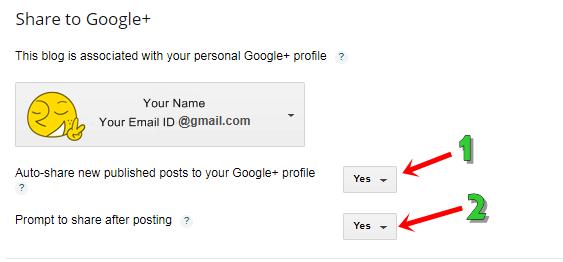 Blogger पर Posts, Comments And Sharing settings सही तरीके से कैसे करे