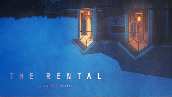 Cartel de la entrada The Rental