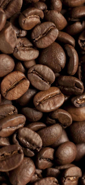 حبوب القهوة المحمصة