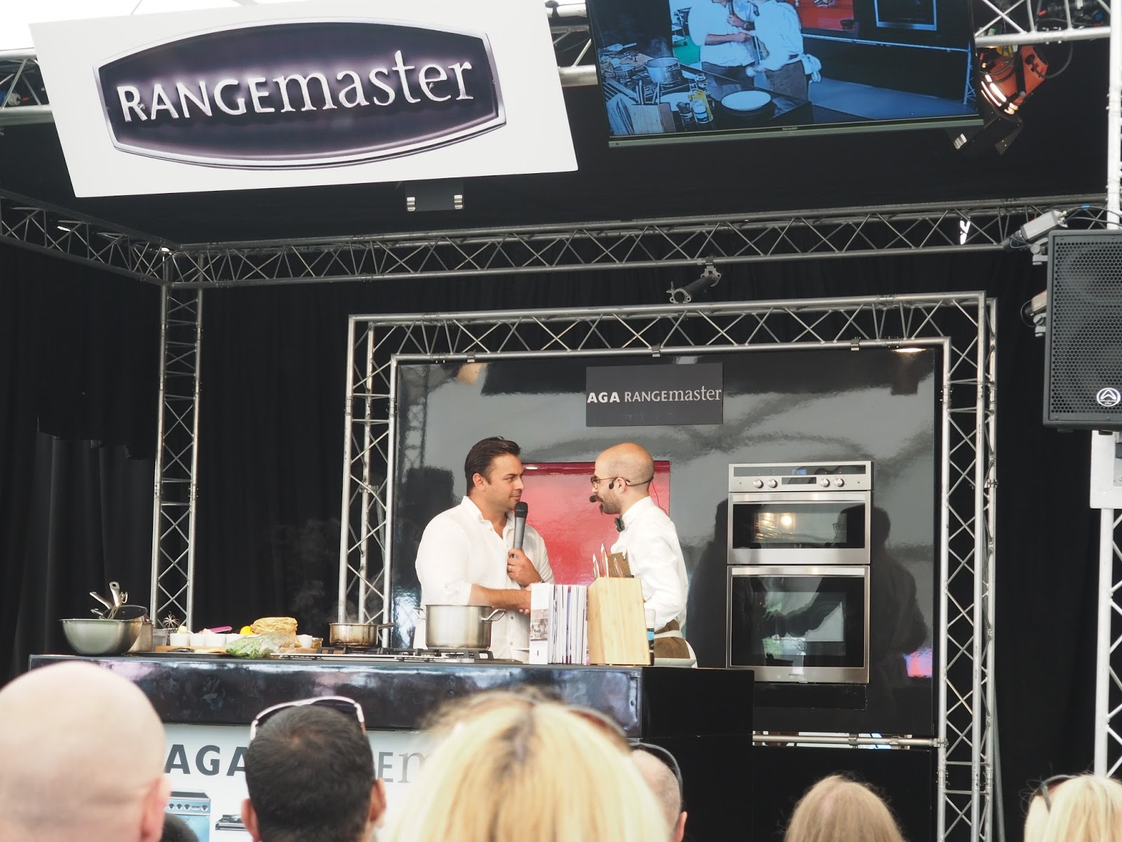 Foodies festival Birmingham Masterchef cooking demonstration