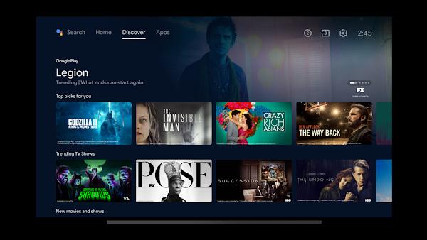 Android TV Home 3.0 prepara-se para uma reformulação da guia 'Discover' ao estilo do Google TV