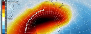 se aproxima extraño evento climatologico.