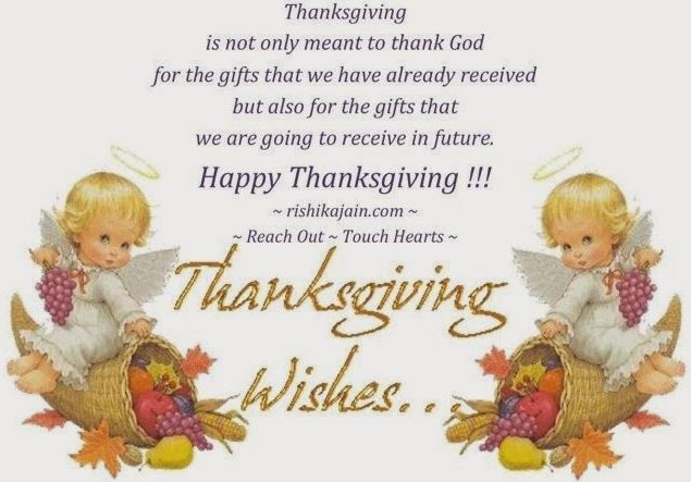 Thanksgiving Wishes for Children Kids