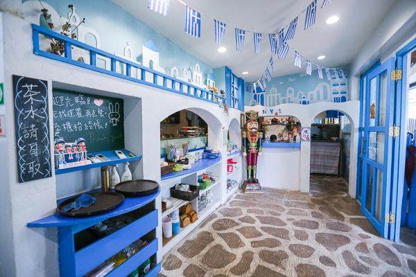 雲林古坑56號藍色公路咖啡,免出國就有滿滿地中海景觀拍美照