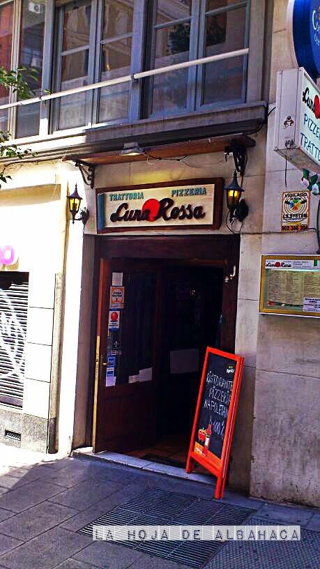 Luna Rossa ,Madrid, Pizzeria, Trattoria, Restaurantes Italianos Madrid, pizza Dop