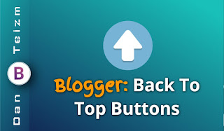 blogger back to top buttons