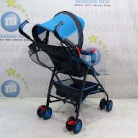 Kereta Bayi Pliko PK107N Techno Buggy Blue