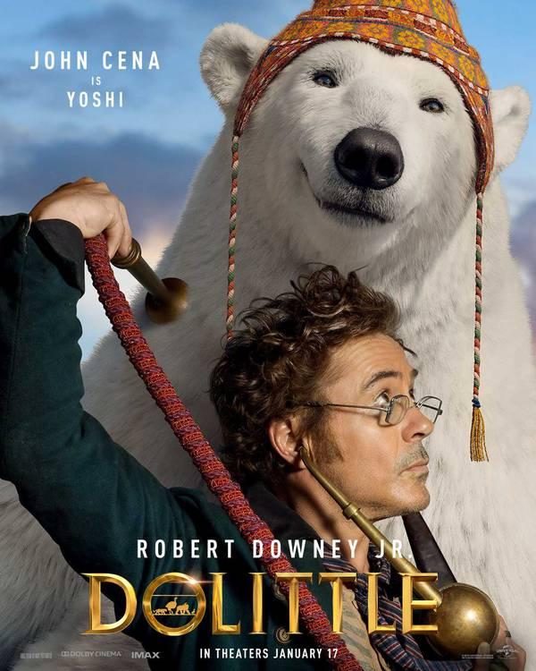 Dolittle/Universal Pictures/Reprodução
