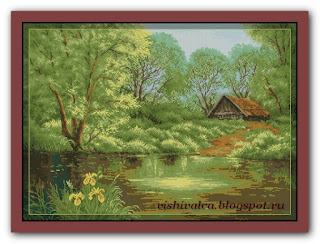 "Download embroidery scheme Rogoblen 6.87 ""Summer Rhapsody"""