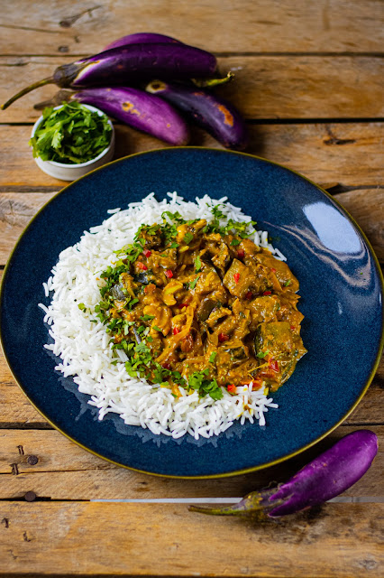 curry aubrgines