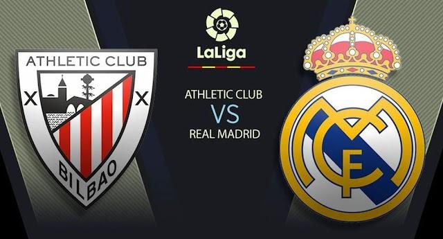 Juegan Real Madrid vs. Athletic Club Bilbao EN VIVO desde San Mamés: horarios y canales por LaLiga Santander 2020