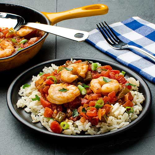 Quick and Easy Shrimp Creole