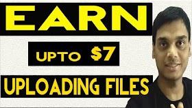 Earn $7 uploading files from mobile/pc || Make money from uploading || Helping abhi