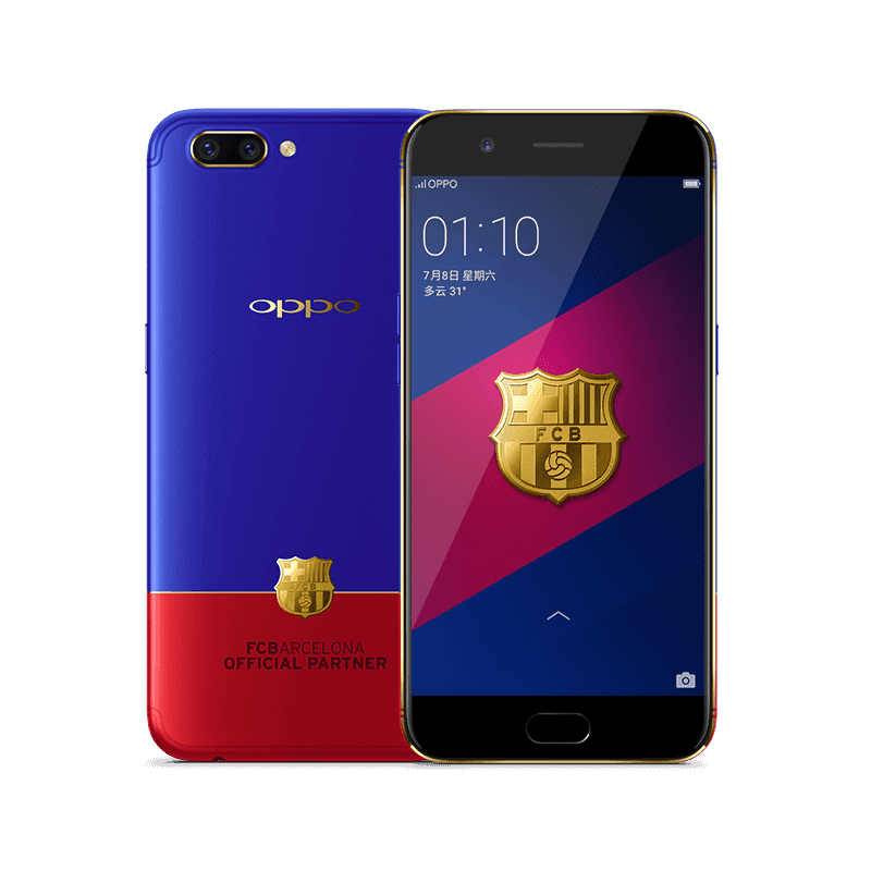 OPPO R11 FC Barcelona Edition Looks Stunning!