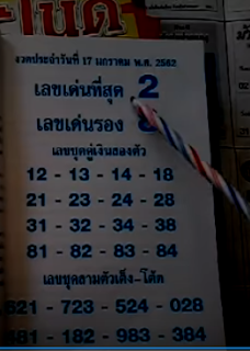 Thai Lottery 3up Free Pointers For 16 January 2019 | Thailand Lottery 2019