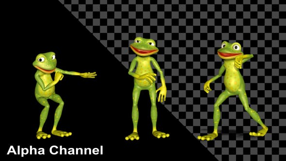 Frog Dancing[Videohive][Motion Graphics][19398029]