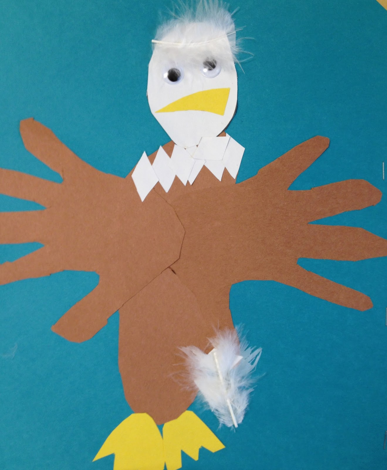 My First Grade Backpack The Bald Eagle