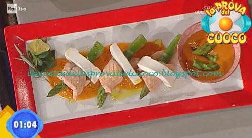 Shangai di asparagi e salmone ricetta Marretti da Prova del Cuoco