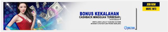 Cash Back Terbesar Hingga 15 %