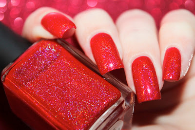 "Swatch of the nail polish ""February 2015"" from Enchanted Polish"