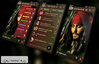 Jacksparrow Theme For YOWhatsApp & Fouad WhatsApp By Nanda
