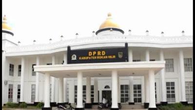 Listrik Kantor Baru DPRD Rohil Diputuskan, Ini Penyebabnya