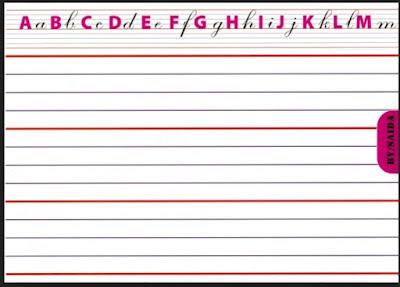 منتدى منارة العلم أوراق مسطرة و الواح لتعلم كتابة الحروف نماذج مختلفة عربية وفرنسية