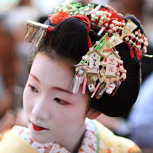 *Jody Star Fashion World*: Geisha Hairstyle
