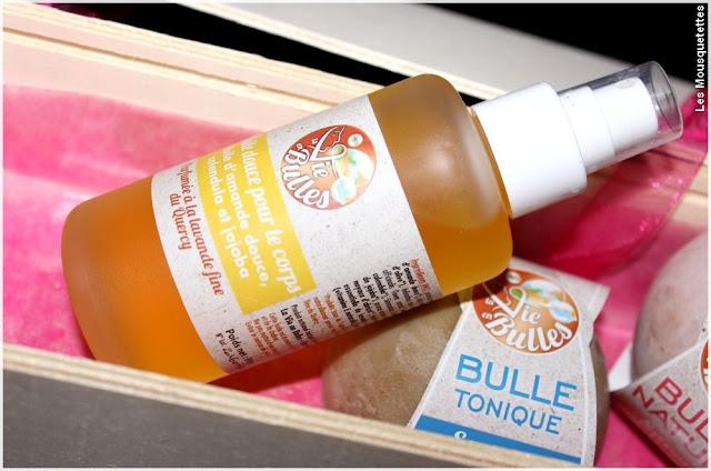 Huile corps, lavande fine du Quercy - La vie en bulles - Blog beauté