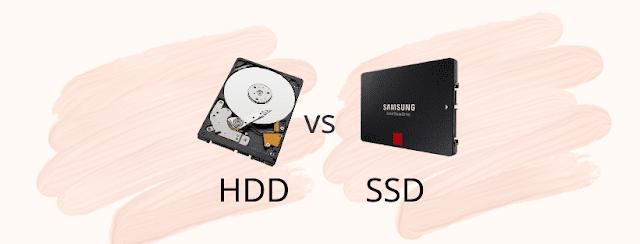 الفرق بين وحدات التخزين SSD و HDD وأيهما أنسب للشراء
