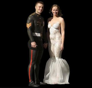 Trending Hari Ini Gaun Pengantin Yang Paling Aneh Di Dunia