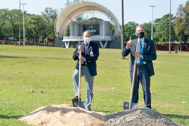 Início das obras: revitalização do Gramadão começou já nesta quinta-feira (22)