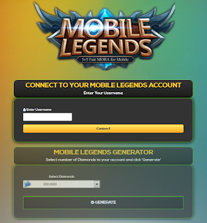 Ceton Live ML Sebagai Diamond Generator Mobile Legends 2019