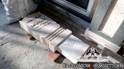 Patok Kuburan, Nisan Patok, Patok Nisan Marmer