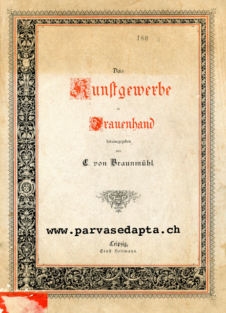 The Vintage Pattern Files: Free 1800's Sewing Manual - Das Kunstgewerbe in Frauenhand