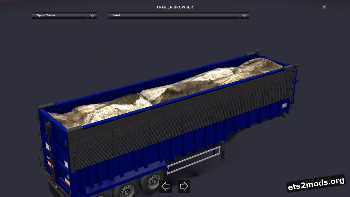 Trailer Scrap Tipper V 1
