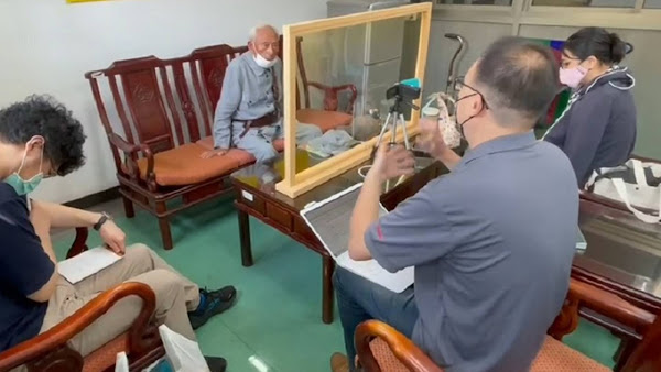 文史工作者紀錄歷史點滴 訪談彰化榮家抗戰老兵