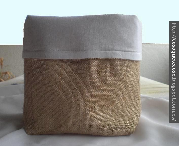 Cosoquetecoso saco de arpillera reversible - Saco arpillera ...